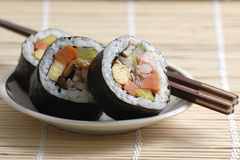 Roll sushi Stock Image