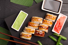 Roll sushi Dragon Royalty Free Stock Image