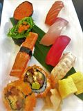 Roll Sushi Sets.Roll Sushi Sets. Roll Sushi Sets royalty free stock photos