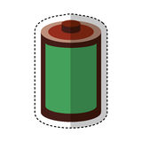 Roll tape record isolted icon Stock Photo