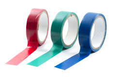 Roll of tapes Royalty Free Stock Image