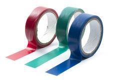 Roll of tapes Stock Photos