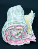 Roll of tea towels. Stock Image