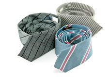Roll ties Royalty Free Stock Images