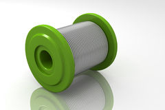 Roll tin Royalty Free Stock Images