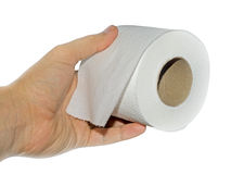Roll of tissue Stock Images