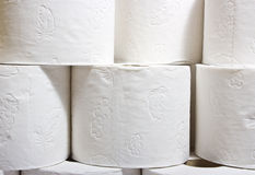 Roll tissue paper Stock Photo