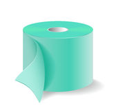 A roll of toilet paper. Royalty Free Stock Image