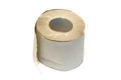 Roll of a toilet paper Royalty Free Stock Image