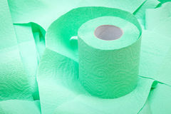 Roll of toilet paper Royalty Free Stock Image