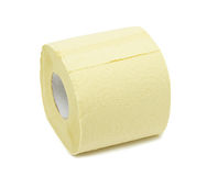 Roll of toilet paper, isolated Stock Photos