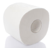 Roll of toilet paper Royalty Free Stock Photo