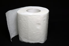 Roll of toilet paper Stock Photography