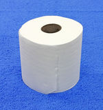 Roll of toilet tissue Royalty Free Stock Photo