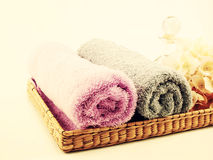 Roll of towel Stock Photography