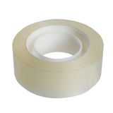 Roll of transparent adhesive tape isolated Royalty Free Stock Image