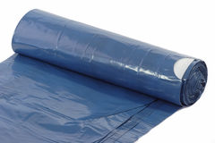 Roll of trash bags Royalty Free Stock Image