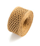 Roll of twine cord isolated on white Stock Photos