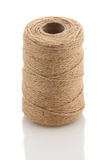 Roll of twine cord on a white background Royalty Free Stock Photo