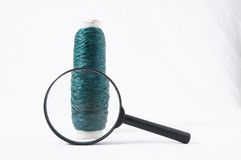 Roll of Twine and Loupe Royalty Free Stock Image