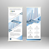 Roll up banner Royalty Free Stock Image