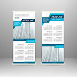 Roll up banner Royalty Free Stock Photography