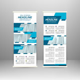 Roll up banner Royalty Free Stock Images