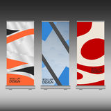 Roll up banner Royalty Free Stock Photo