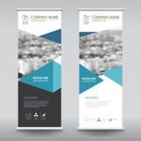 Roll up business brochure flyer banner design vertical template Stock Photos