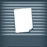 Roll Up Shutters. Vector illustration of roll up shutters Stock Images