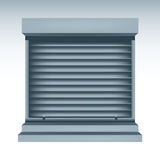 Roll Up Shutters Royalty Free Stock Photos