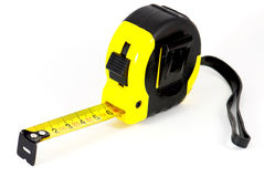 Roll-up tape measure Royalty Free Stock Photo