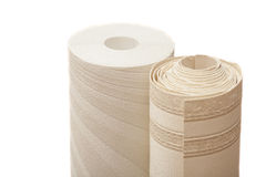 Roll of vinyl wallpapers Royalty Free Stock Photography