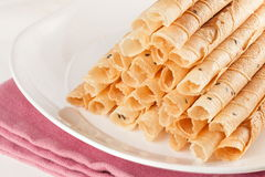 Roll wafer Stock Photos