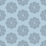 Roll wallpaper seamless pattern Royalty Free Stock Photos