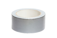 Roll of white adhesive tape Stock Photography