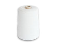 Roll of white thread Royalty Free Stock Photography