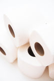 Roll white tissue paper Royalty Free Stock Photography
