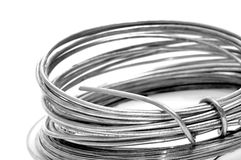 Roll of wire Royalty Free Stock Photography