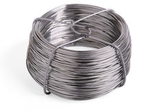 Roll wire Stock Photography