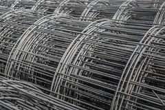 Roll of wire mesh steel Royalty Free Stock Image