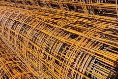Roll wire mesh steel Stock Photos