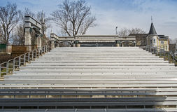 Rolland amphitheater seats Stock Photography