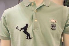 Rolland Garros Shirt Royalty Free Stock Photography