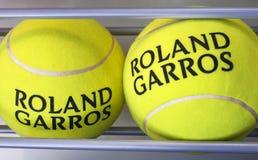 Rolland Garros. Tournament. Tennis balls Royalty Free Stock Photos