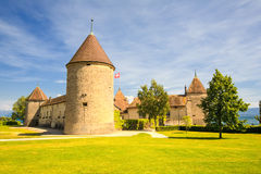 Rolle Castle In Switzerland Stock Photography