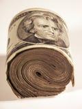 Rolle der Rechnungen Stockfoto
