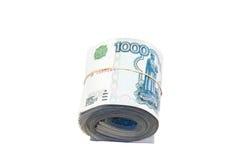 Rolle der Rubel Lizenzfreies Stockbild