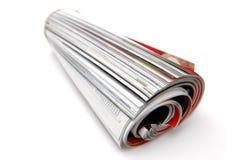Rolle der Zeitschrift Lizenzfreie Stockfotos