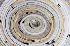 Rolle der Zeitschriften Stockbilder